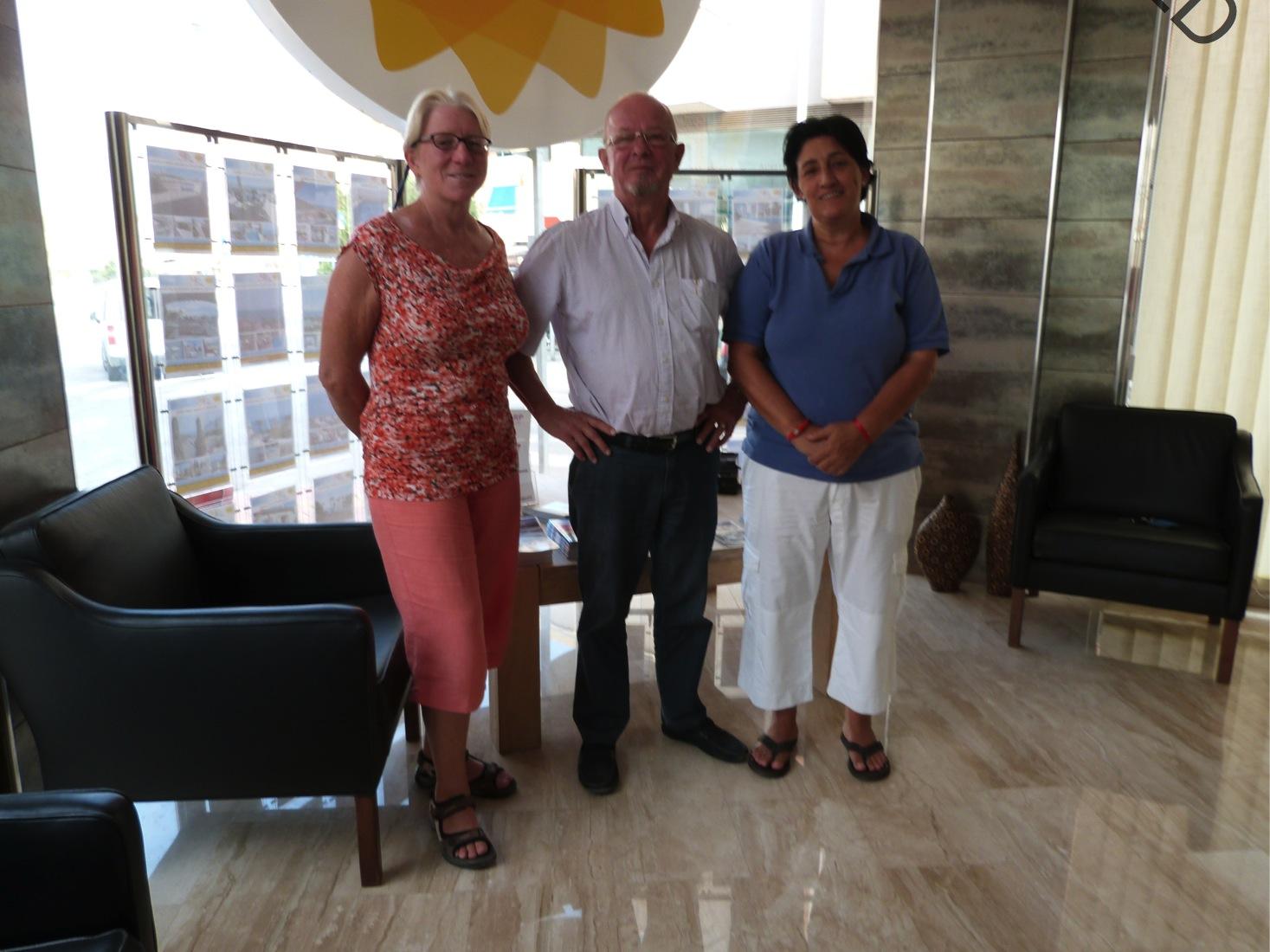 Teamet vårt i Puerto de Mazarron